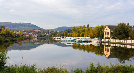 River port in Saverne, Alsase, France