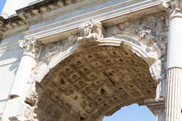 Arch of Titus Up Close