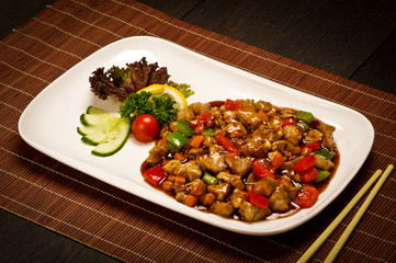Pork stew in Chinese style
