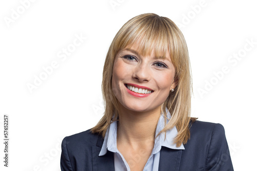 canvas print picture Smiling Business Woman