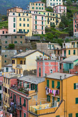 Colorful Monterosso Buildings
