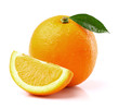 Sweet orange with slice