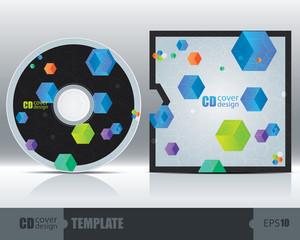 CD Cover Design Template Set 3
