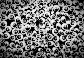 Funny eyes background