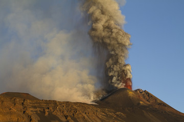 Etna, parossimo del 26/10/2013