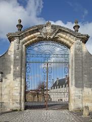 entrée de l'abbaye royale à St Jean d'Angely