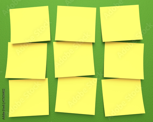 Post-It with clipping path included.