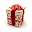 3D - Christmas Gift Boxes (IV)