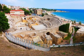 Roman amphitheater. Tarragona, Spain