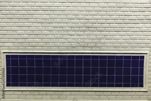 Empty sign in Paris metro - 57659848
