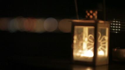 Lantern. Detail.