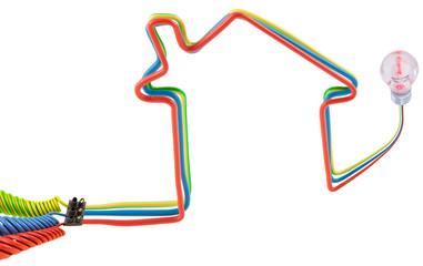 concept maison électrique