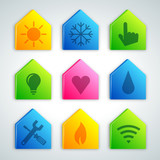 house icon set 1