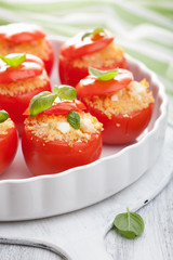 stuffed tomatoes with couscous and feta