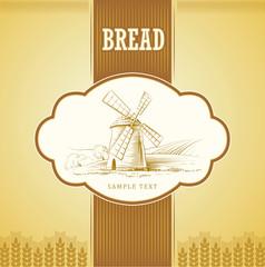 Bread. loaf, baguette, baked goods, croissant, cupcake, bagel