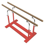 Gymnastic parallel bars