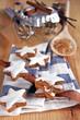 zimtsterne und weihnachtsbäckerei