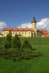 Radziwill castle in Nesvizh, Belarus