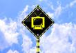 TV ROAD SIGN