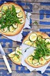 pizza with zuchinni