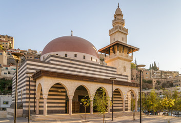 Mosque in Amman Downtown