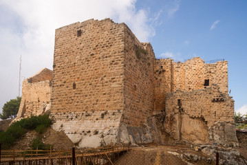 The castle of Ajloun