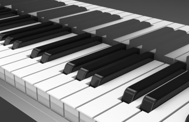 Die Klaviertasten