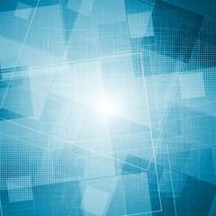 Bright blue grunge vector texture