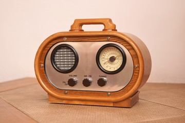 Radio, a modern replica of an old radio