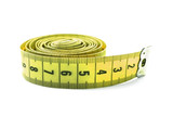 Yellow measuring tape poster