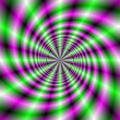 Neon Spinning Wheel