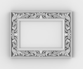 Frame with thread