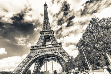The tower of Paris