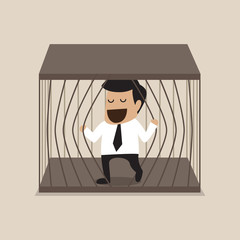 Businessman escape from jail