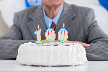 One hundred birthday