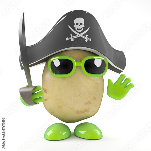 Pirate spud