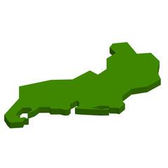 リオデジャネイロ ブラジル 地図