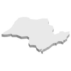 サンパウロ ブラジル 地図