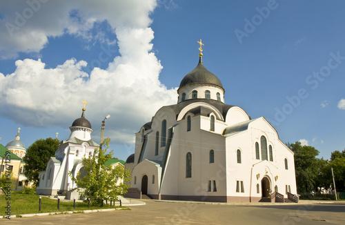 Tver, Russia, Christmas convent