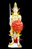 Thai art, Image of angel in Thai style molding art