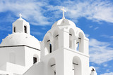 Church on the island of Santorini, Oia, Greece