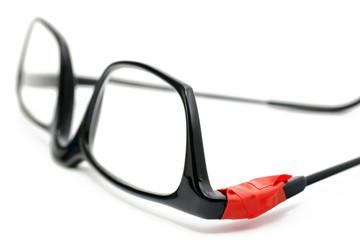 geflickte Brille