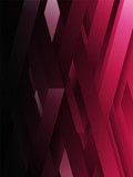 Pink abstract geometric lines background