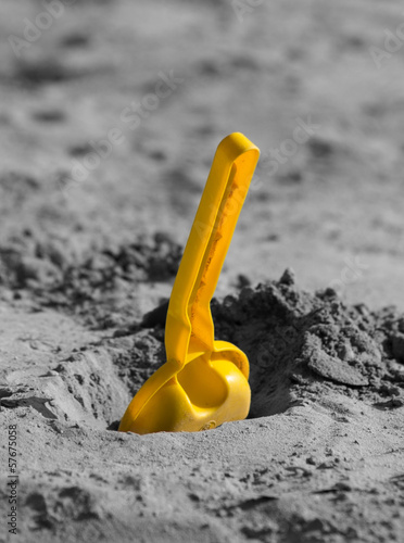 Shovel in the sandbox