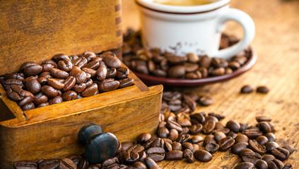 scorta di caffè