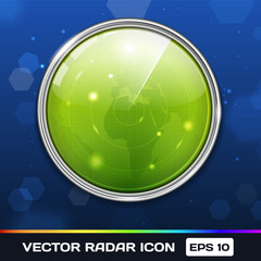 Green Radar Icon