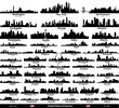 United States of America vector cities skylines