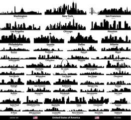usa cities set