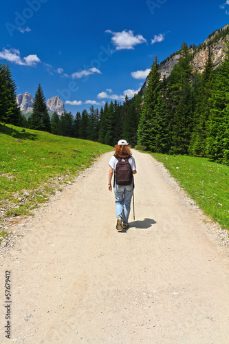 trekking in Contrin Valley