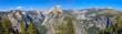 Yosemite Valley Panorama with Half Dome, California